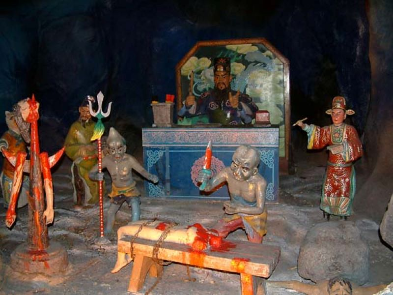 Ten Courts of Hell in Haw Par Villa