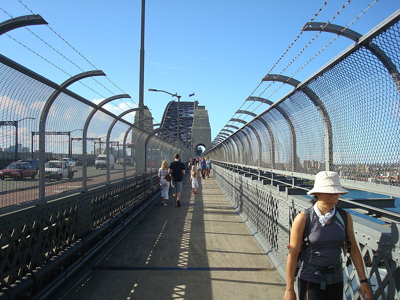 Walk Across the Harbour Bridge