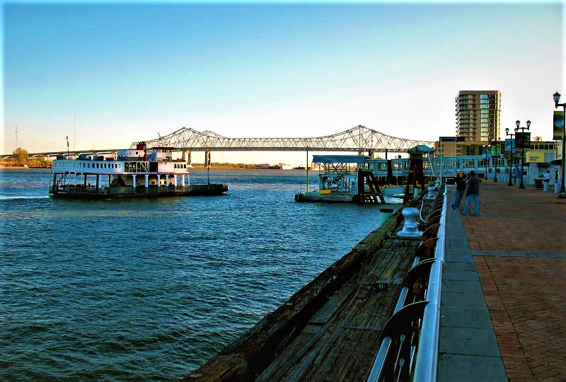 Algiers Ferry New Orleans