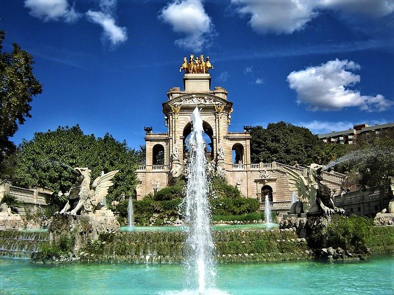 Cascada del Parque de la Ciudadela Barcelona