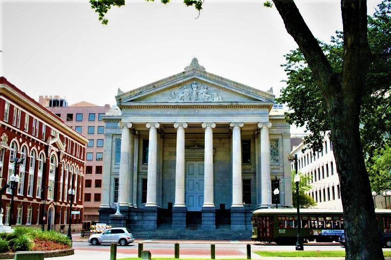 Gallier Hall Lafayette Square New Orleans