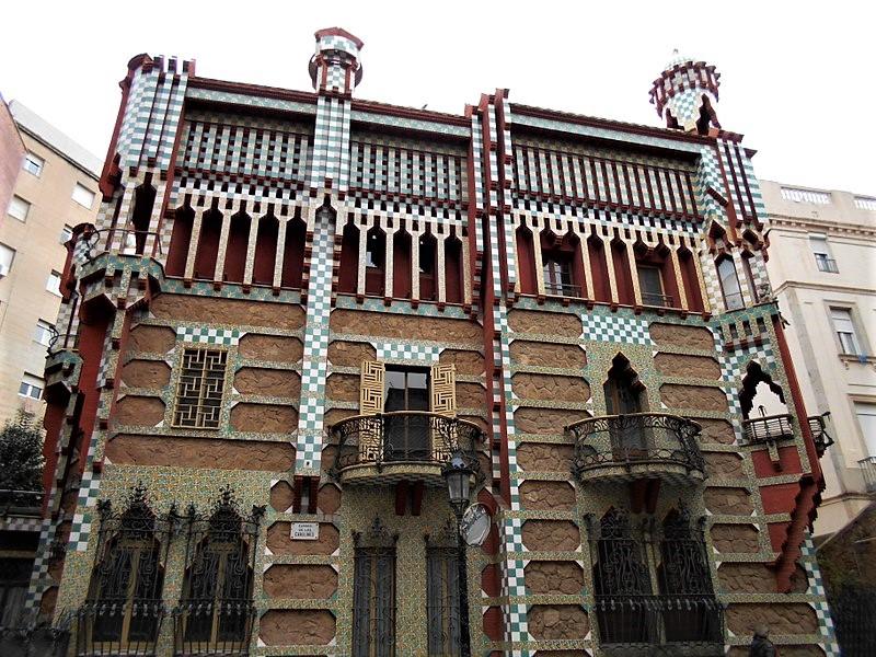 Gaudí Casa Vicens Barcelona