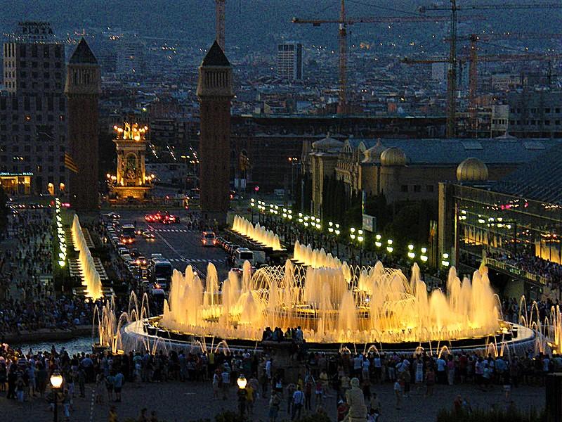 Magic Fountain, Barcelona