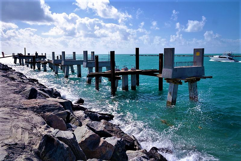 South Pointe Park Pier Miami