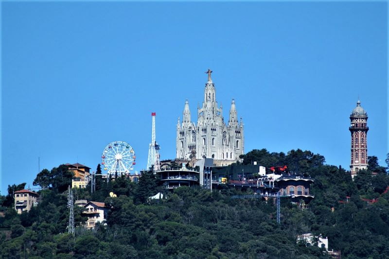 tibidabo barcelona theme park