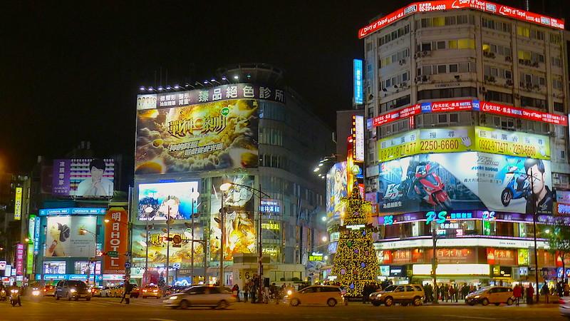 Ximending Shopping District Taipei Taiwan